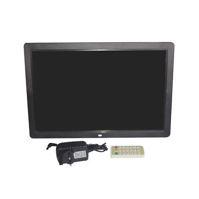 """17"""" HD 1080P LED Digital Photo Picture Frame Movie Player Remote Control"""
