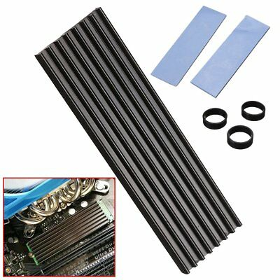 Aluminum Diffuse Heat Sink Cooling NGFF 2280 For SM961 960PRO M.2 NVMe New
