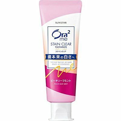SUNSTAR Ora2 me Toothpaste Stain Clear Paste Peach Reef Mint 130g From Japan