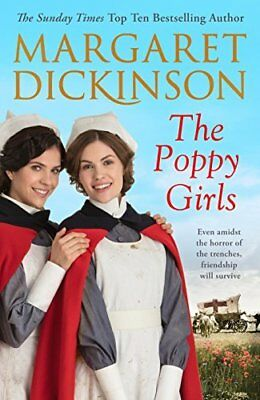The Poppy Girls (The Maitland Trilogy) by Margaret Dickinson New Paperback Book