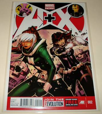 A + X ( AVENGERS Plus X-MEN ) # 2 Marvel Comic (January 2013) NM  1st Printing.