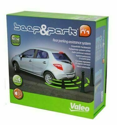 Valeo 632000 Beep & Park Car Reverse Parking Sensor Quality Rear Reversing Kit