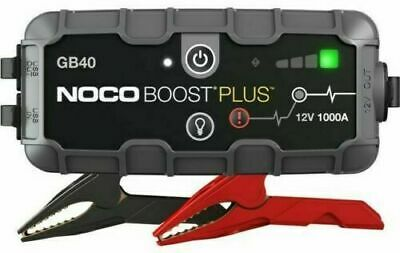 NOCO Genius Boost Sport GB40 1000 Amp 12V UltraSafe Lithium Jump Starter Device