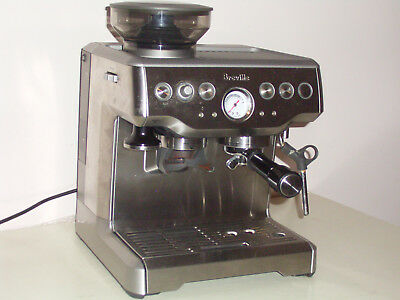 BREVILLE BES 870 BARISTA EXPRESS COFFEE MACHINE Grinder