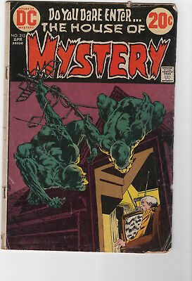 House of Mystery (1st Series) #213 1973 GD-nice reader copy-bronze-b0818-002