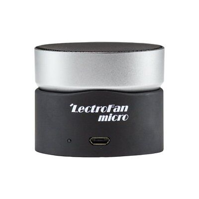LectroFan Micro Wireless Sleep Sound Machine and Bluetooth Speaker with Fan and