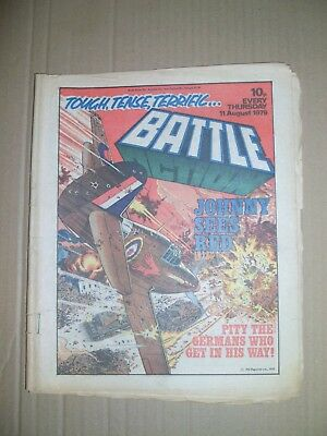 Battle Action issue dated August 11 1979