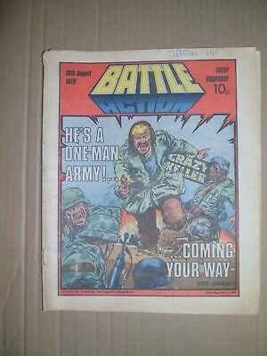 Battle Action issue dated August 18 1979