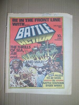 Battle Action issue dated August 25 1979