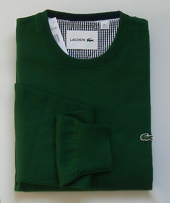 """Superbe Pullover neuf, Col rond, 100% coton """"Lacoste-Devanlay"""" - Taille 7 ou 2XL"""