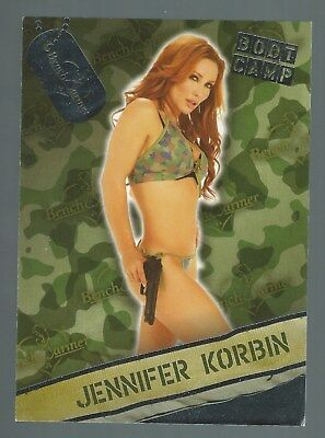 Benchwarmer Chase Card Boot Camp Card 02 Jennifer Korbin 2013 Good+ Condition
