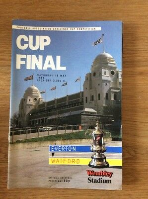 FA Cup Final 1984 Everton V Watford