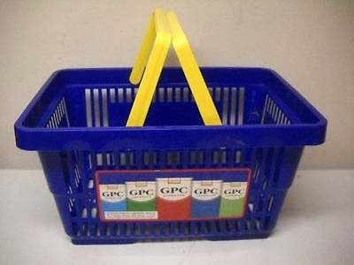 Vintage GPC Cigarette Blue Shopping Carrier Grocery Store Basket MANY AVAILABLE