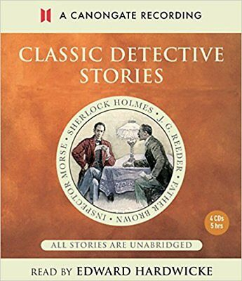 Classic Detective Stories Cd Audiobook New Sealed Sherlock Morse Father Brown