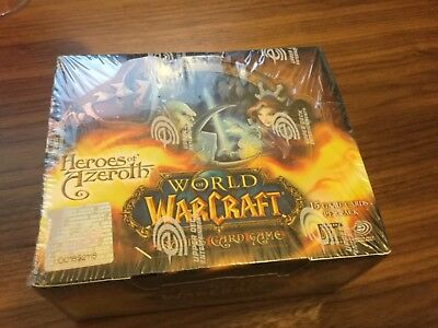 WOW TCG Heroes of Azeroth 24 pack booster box