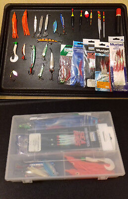 Fishing tackle - Assorted Floats/Spinners/Lures etc (2)
