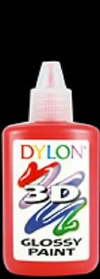 Dylon 3D Fabric Paint Assorted Colours *REDUCED*