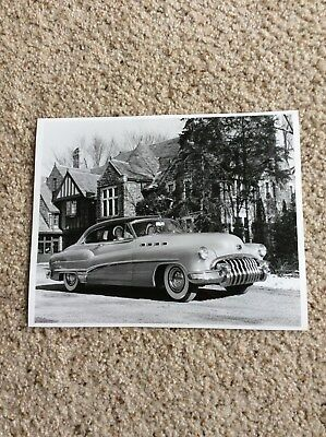 1950  Buick two-door hardtop original 8X10 black an white photo