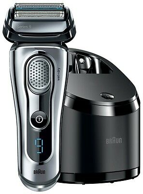 Braun Men's Electric Shaver Series 9 9095cc 4-Blade Wet-Dry with case Japan F/S