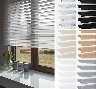 Stylish Made to Measure Silhouette Blinds/Shades in Various Colours