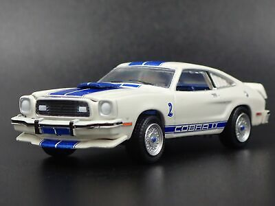 1976 FORD MUSTANG COBRA ll CHARLIE'S ANGELS  1:64 COLLECTIBLE DIECAST MODEL CAR
