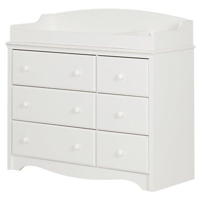 South Shore Angel 6 Drawer Changing Table/Dresser