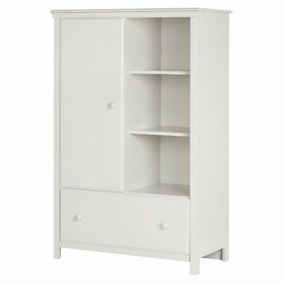 South Shore Cotton Candy Armoire with Drawer