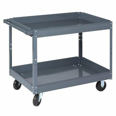 Wesco 2 Tray Steel Service Cart