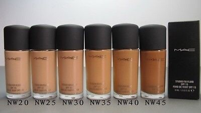 MAC Studio Fix Fluid Foundation (NW) 30ml full size Summer makeup