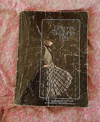 VTG* JC Penny Fall & Winter* 1978* Large catalog* 1400+ pages* retro chic*