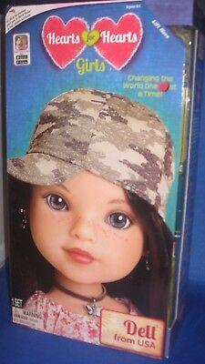 Heart For Heart Girls Dell (Usa) Collector Doll World Vision, New