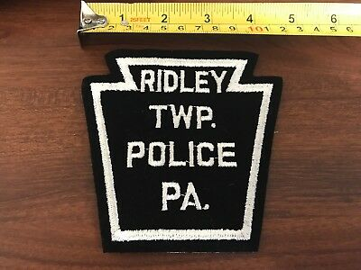 Ridley TWP Police PA Embroidered Sew on Patch EMS PD
