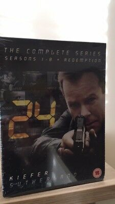 24 Series 1-8 Complete (DVD, 2011) including Redemption