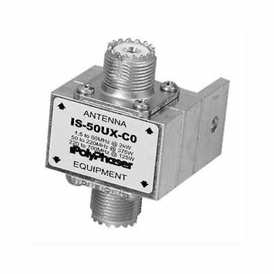 PolyPhaser IS-50UX-C0 Lighting Protection 1.5 to 700 MHz SO-239/S0-239 for PL259