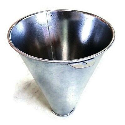 STURDY IMPORTED CHICKEN CONE GALVANISED STEEL HUMANE (Killing Funnel) POULTRY