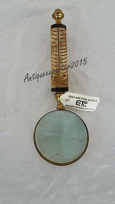Christmas Halloween Nautical Magnifying Glass Vintage Decore Collectible Item