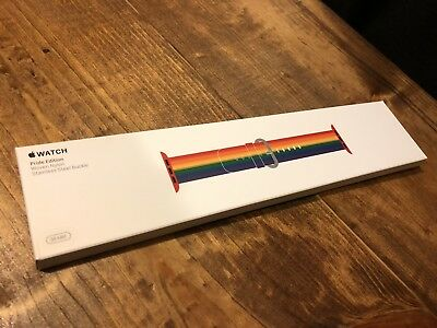 NEW SEALED  Apple Watch Band 38mm PRIDE EDITION (Rare • Limited • Discontinued)