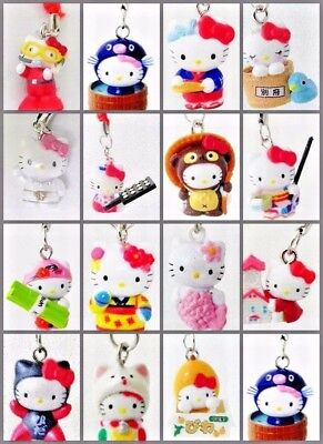 2pcs Cute Kitty Figures Straps, Charms or Keychains 90 Styles Randomly Picked
