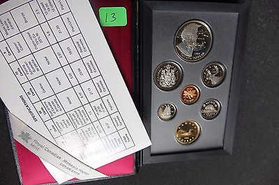 Canada 1995 Proof Double Dollar Set ***7 Coins***