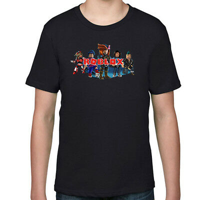 ROBLOX Kids T-Shirt, Children Computer Game Tee Size 2-16