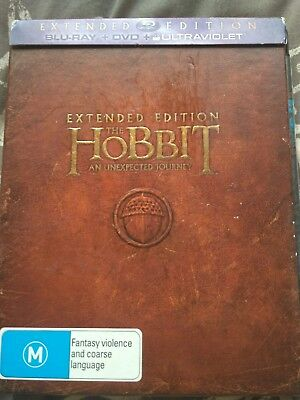The Hobbit An Unexpected Journey Extended Edition Blu-ray Region B