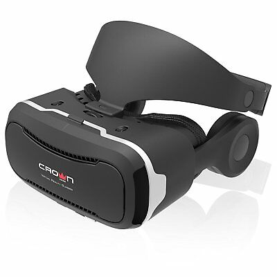 """Crown Micro CMVR -17 VR Brille VR Glasses Virtual Reality 3D 4.7-6"""" Smartphones"""