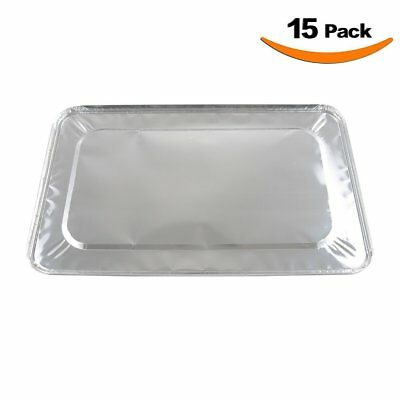 XIAFEI Full Size Foil Steam Table Lids 15 Pack
