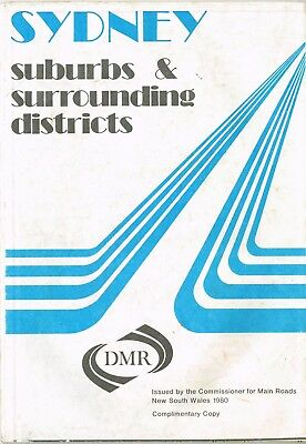 1980 Sydney & Surrounding Districts NSW by Commissioner for Main Roads