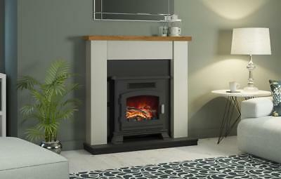 Electrical Fireplaces Be Modern Emlyn 29 Soft White Electric