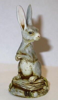 Harmony Kingdom Artst Neil Eyre Designs Bunny Rabbit Hare Easter Grey or White