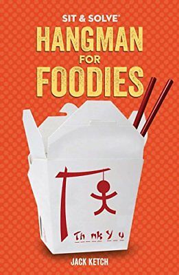NEW Sit & Solve® Hangman for Foodies (Sit & Solve® Series) by Jack Ketch