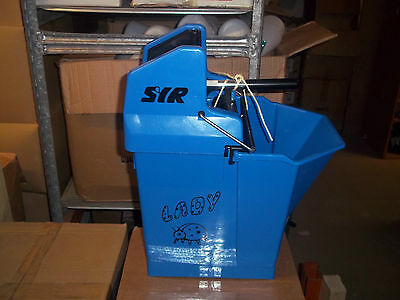 Kentucky Ladybug Mop Bucket And Wringer  15L By Syr Cheapest On Ebay