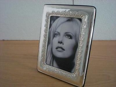 Sterling Silver Photo Picture Frame Handmade*1015/9×13 GB new