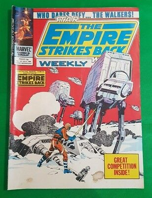 The Empire Strikes Back Weekly ***VGC - ISSUE #123!!*** Marvel 1980 Star Wars #2